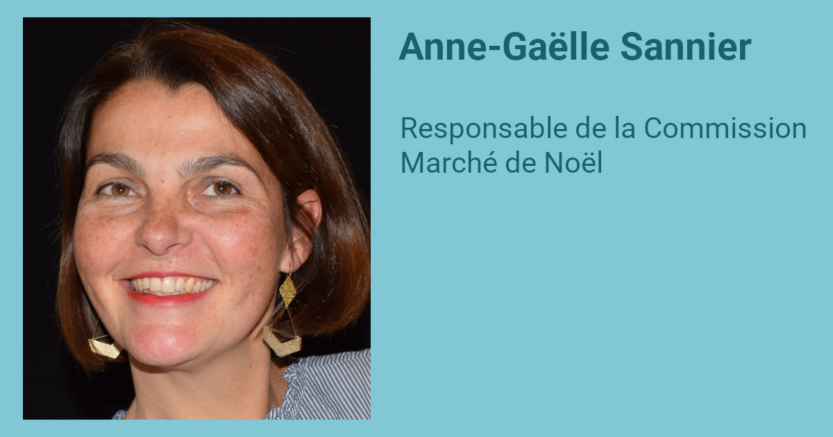Interview d'Anne-Gaëlle Sannier